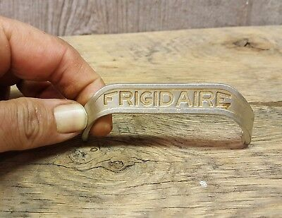 "Antique Vintage Frigidaire Refrigerator Cast Aluminum Handle Pull 3-1/4"" Long"