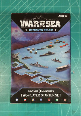 Wizards of the Coast Axis & Allies War at Sea Starter Kit 2010