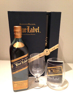 Johnnie Walker Blue Label RARE 100 Years of The Striding Man
