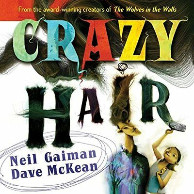 CRAZY HAIR By Neil Gaiman - Hardcover **BRAND NEW**