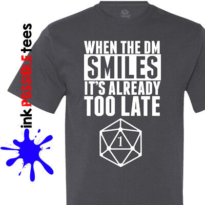 Dungeons and Dragons Gamer T-Shirt