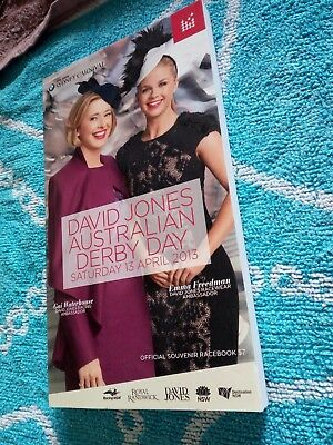 Racebook Black Caviar/Winx Race book TJ Smith Stakes Cox Plate Race book 2017