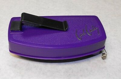 Universal PURPLE Serving Tray CASH CADDY Cocktail Waitress Change & Tip Maker