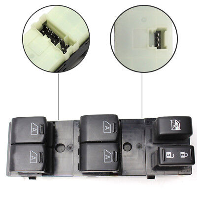 Front Master Power Window Switch Driver Side for Infiniti G35 G37 Q40 US SELLER