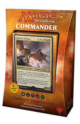 Draconic Domination - Commander 2017 - Magic the Gathering - Dragon Tribal