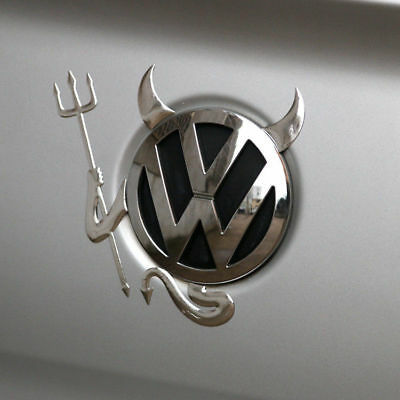 1x 3D Funny Little Devil Car Stickers Decals Badge For VW Volkswagen Auto Decor