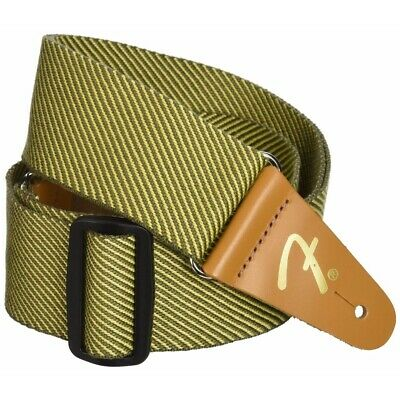 "New Fender 2"" Vintage Yellow Tweed Guitar Strap, 099-0687-000"