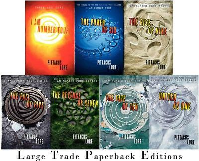 The Lorien Legacies Series By Pittacus Lore 7 Books Set I Am Number