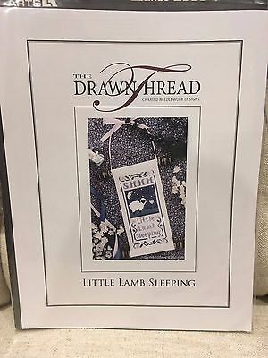 The Drawn Thread - Little Lamb Sleeping - cross stitch pattern