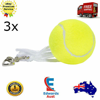 Totem Tennis Ball Cricket Dog Replacement 3x Backyard Trainer Spare Hook String