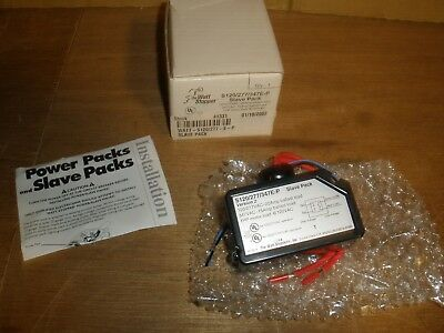 NEW Watt Stopper S120/277/347E-P Slave Pack 347E-P 120/277V 20A 347VAC 15A 1HP