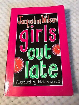 Girls Out Late Jacqueline Wilson Paperback Book