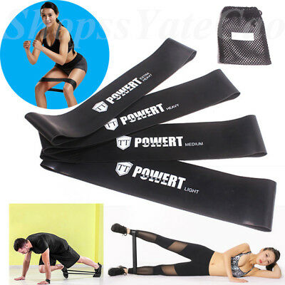 Elastic Yoga Arm Leg Pilate Rubber Stretch Resistance Exercise Fitness Band Belt