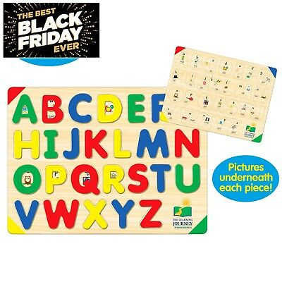 Awesome Toy Puzzle Learning Educational Alphabet ABC XMAS Gift For Toddler BABY