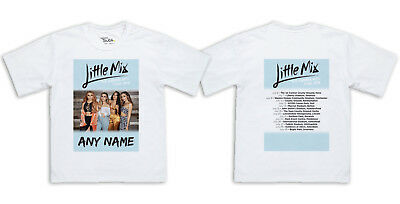 Personalised Little Mix Summer Hits 2018 Tour Printed Kids T-Shirt Age 5-12