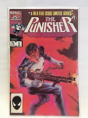 Punisher (Vol 1) #5 VF+ 1st Print Free UK P&P Marvel Comics