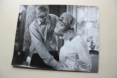 "Michael Caine In  ""alfie"" Vintage  Photo With Snype #3"