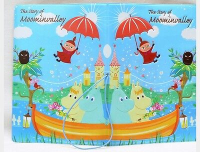 Moomin Valley Character Little My Blue Passport Holder