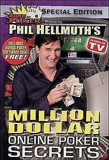 Phil Hellmuth's Million Dollar Online Poker Secrets - DVD - Color Import NEW