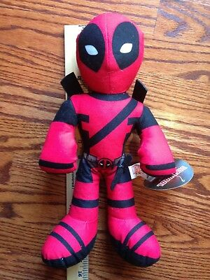 "Marvel Deadpool Large 14"" Plush Doll Stuffed Collectors Edition Kids Adult Toy"