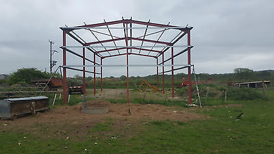 30 x 60 steel building x 19 to eaves
