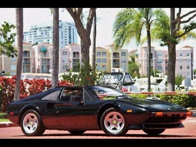 1985 Ferrari 308 GTSi QV 1985 FERRARI 308 GTSi QV BLACK-BLACK LIKE NEW SERVICED WOW