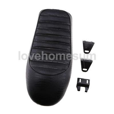 Universal Black Hump Styling Cafe Racer Seat Saddle For Suzuki Yamaha Honda