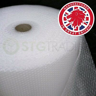 UK BUBBLE WRAP SMALL & LARGE BUBBLE - 300mm/500mm/750mm