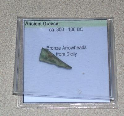 Ancient Greece Bronze Arrowhead from Sicily, ca. 300-100 BC