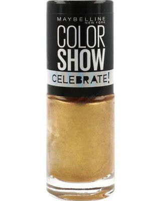 Maybelline Nail Polish   Color Show Celebrate   Assorted Colours   7ml