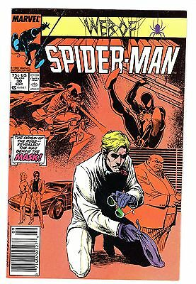 Web of Spider-Man #26 & #30 (Two Book Lot) Black Costume / The Rose / Hobgoblin