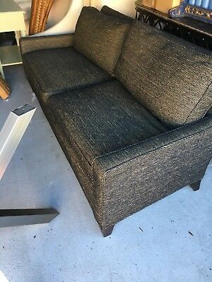 Mid Century modern Authentic Baker Sofa Couch Crown & Tulip .. can ship