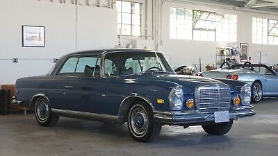 """1971 Mercedes-Benz 200-Series  1971 Mercedes 280SE Coupe 3,5 V8 """"Matching numbers"""""""