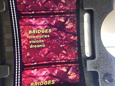 35mm movie film BRIDGES MEMORIES VISIONS DREAMS educational industrial US steel