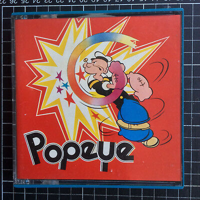 Super 8 film POPEYE CARTOON #44 Ski Jump Chump 60s TV cartoon movie good color