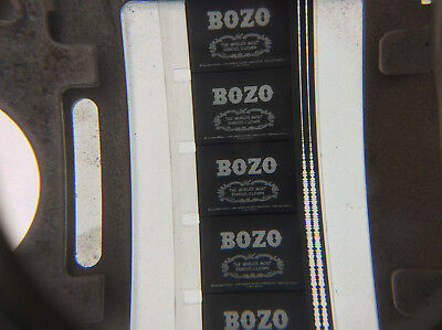 16mm film BOZO THE WORLD'S MOST FAMOUS CLOWN rare B&W Australian TV cartoon