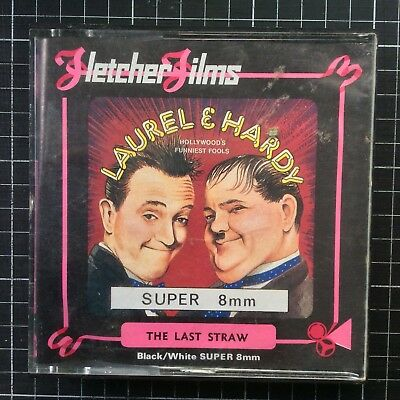 Super 8 movie Laurel & Hardy THE LAST STRAW 200ft Fletcher silent comedy classic
