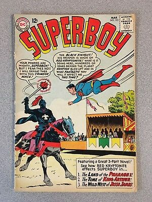 Superboy #103 (Mar. 1963, DC) 4.0 VG Silver Age Comic