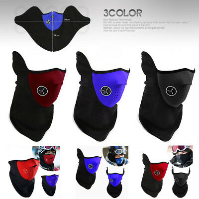 Neck Warm Half Face Mask Veil Guard Winter Veil For Sport Ski Bicycle Motorcycle