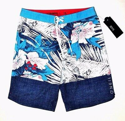 "Nwt ~~Boy's O'neill Board Shorts ""stained Horizon"" Youth Size 18...29"" Waist~~"