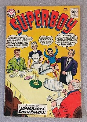 Superboy #112 (Apr. 1964, DC) 4.0 VG Silver Age Comic