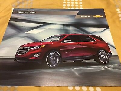 2018 CHEVY EQUINOX 36-page Original Sales Brochure