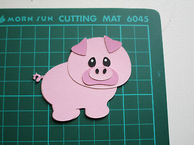 fully assembled die cut/ Pig