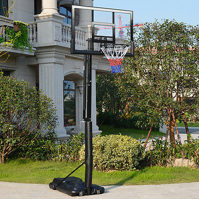*VIC PICKUP * 47 inch Portable Basketball Hoop and Stand Height Adjustable
