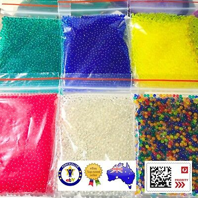 "12000 ORBEEZ! Variety Pack - 6 Colours 8mm ""So Squishie And Fun!"" AUS SELLER"