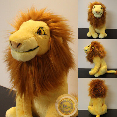 Authentic Disney Simba The Lion King Soft Plush Toy - 12''