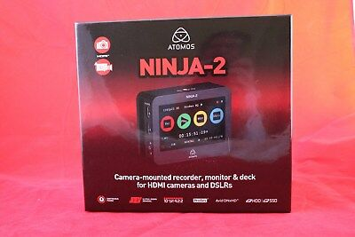Atomos NINJA-2  Professional Recorder, Monitor & Deck for HDMI cameras & DSLRs