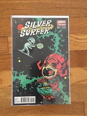 Silver Surfer #1 (2014) Volume 6. Scottie Young Variant