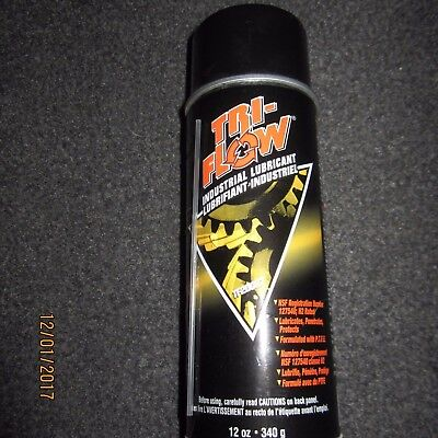 TRI-FLOW TF20027 PTFE Industrial Lubricant, 16 Oz Net 12 Oz 340g Cases or Cans
