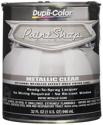 Dupli-Color BSP301 Metallic Clear Coat Paint Shop Finish System Mid Coat Special